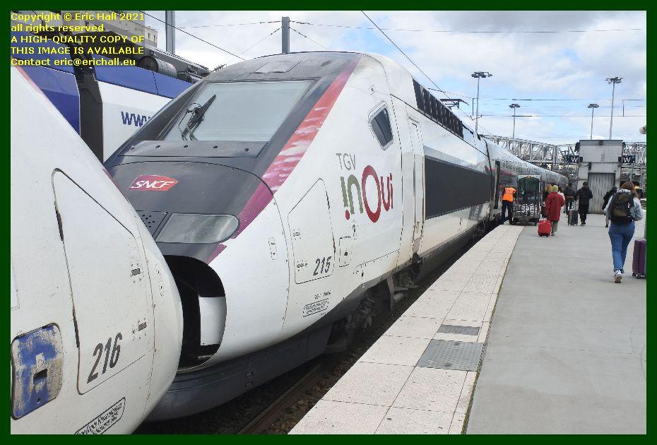 TGV Reseau Duplex 215 gare du nord paris France Eric Hall
