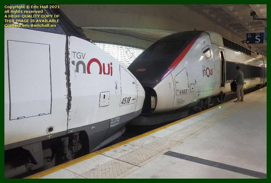 TGV Réseau 38000 tri-volt 4518 SNCF TGV POS 4403 gare du lille europe France Eric Hall