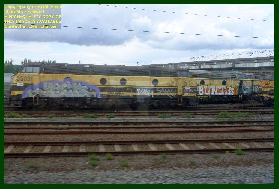 sncb series 55 locomotive 5503 haren brussels belgium Eric Hall