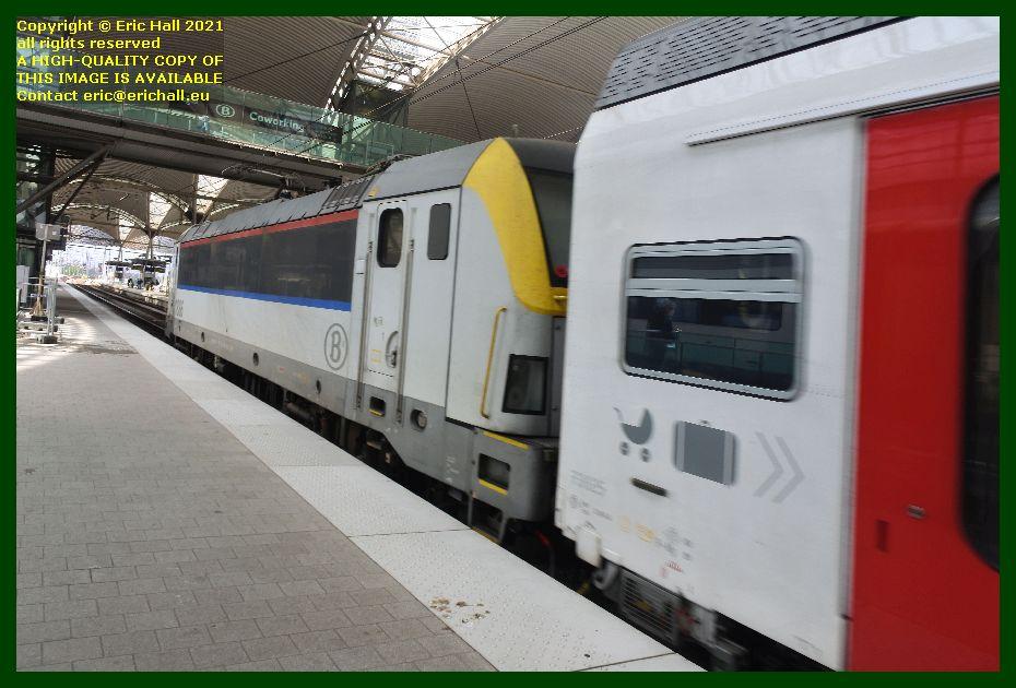 sncb class 18 locomotive 1886 gare de Leuven railway station Belgium Eric Hall