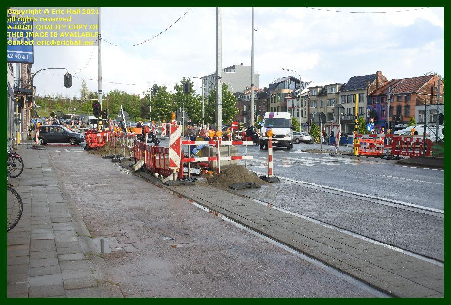 roadworks naamsestraat naamsevest Leuven Belgium Eric Hall