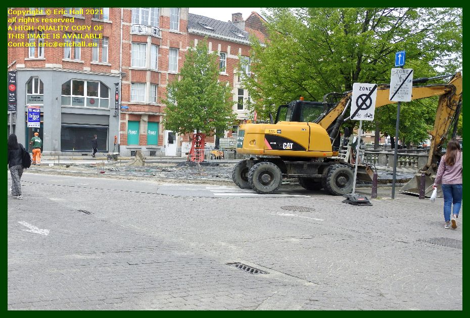 roadworks amerikalaan franz tielemanslaan Leuven Belgium Eric Hall
