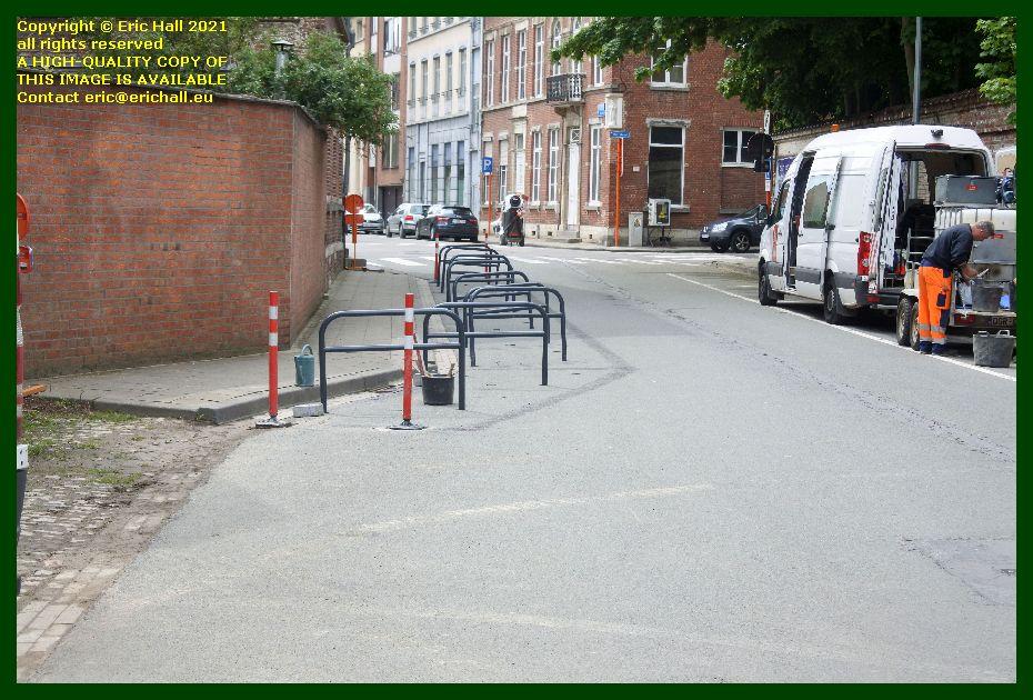 cycle racks sint jacobs kerk kruisstraat Leuven Belgium Eric Hall