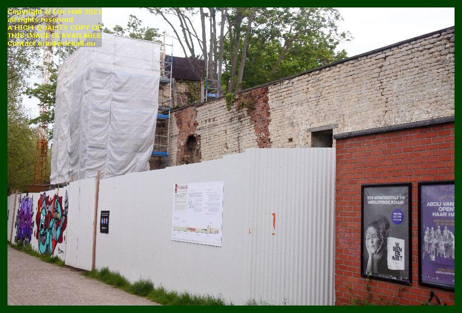 medieval city walls handbooghof Leuven Belgium Eric Hall