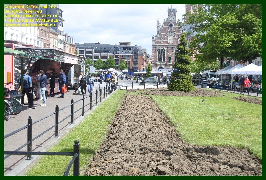 market herbert hooverplein Leuven Belgium Eric Hall