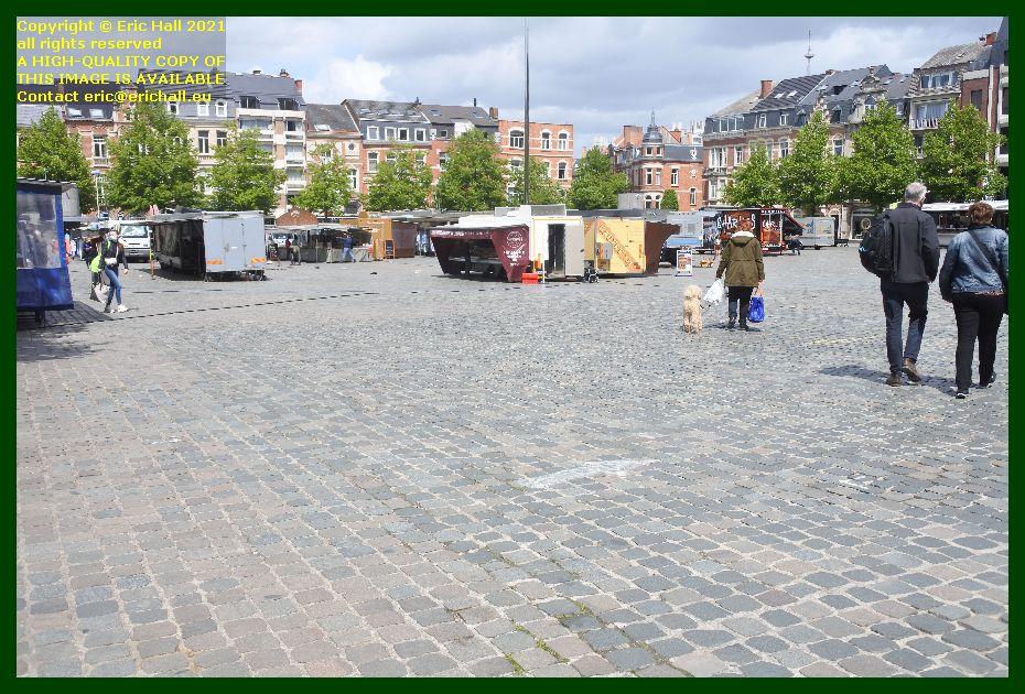 market monseigneur ladeuzeplein Leuven Belgium Eric Hall