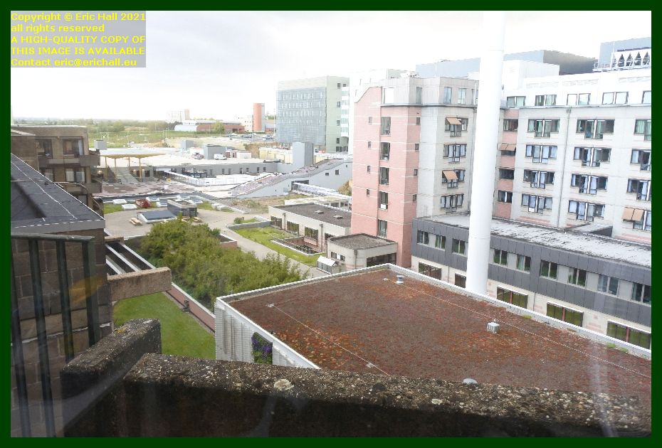 view from window gasthuisberg university hospital Leuven Belgium Eric Hall