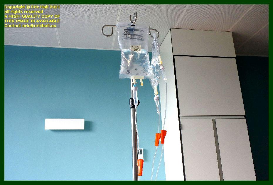 intravenous drip gasthuisberg university hospital Leuven Belgium Eric Hall