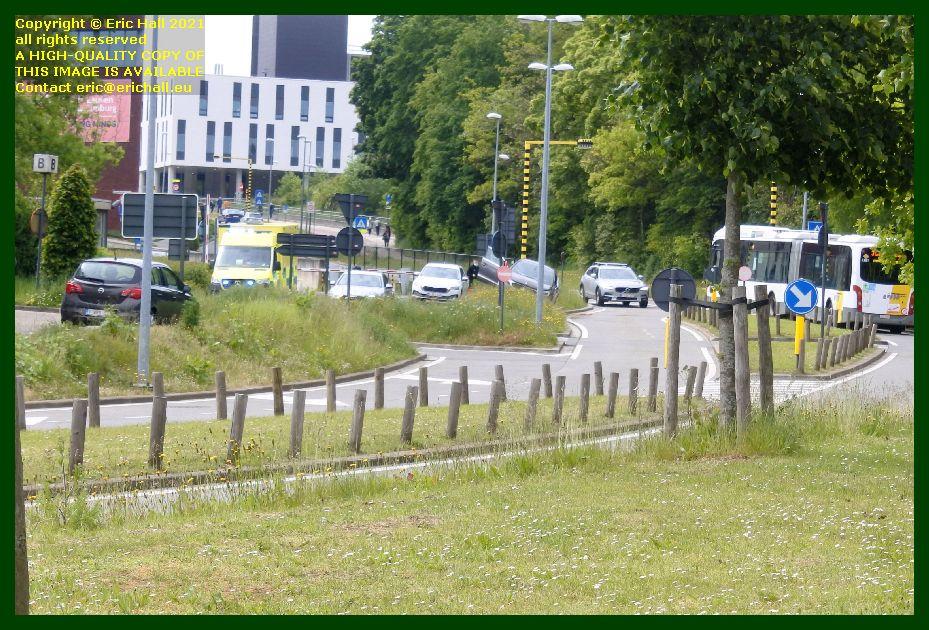 road accident herestraat Leuven Belgium Eric Hall