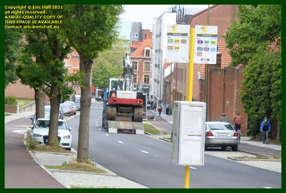 digger monseigneur vanwaeyeberghlaan Leuven Belgium Eric Hall