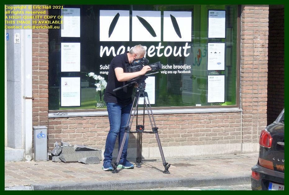 film cameraman tiensestraat Leuven Belgium Eric Hall
