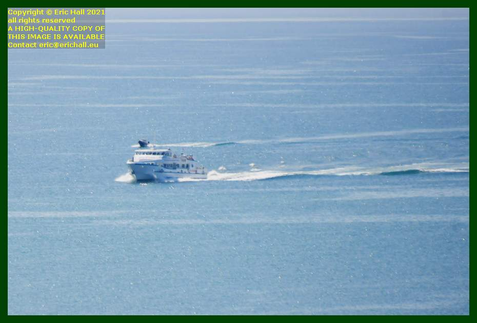 joly france speedboat english channel Granville Manche Normandy France Eric Hall