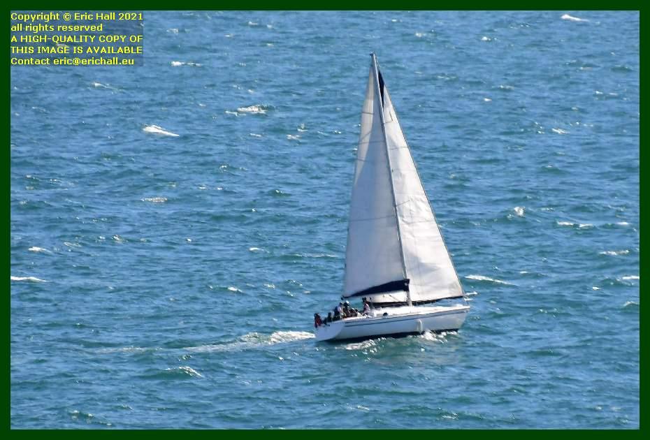 yacht baie de mont st michel Granville Manche Normandy France Eric Hall