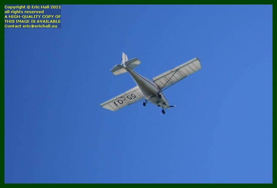 aeroplane 55-oj pointe du roc Granville Manche Normandy France Eric Hall