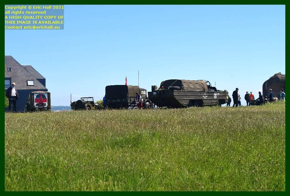 dodge ambulance jeep chevrolet lorry dukw pointe du roc Granville Manche Normandy France Eric Hall