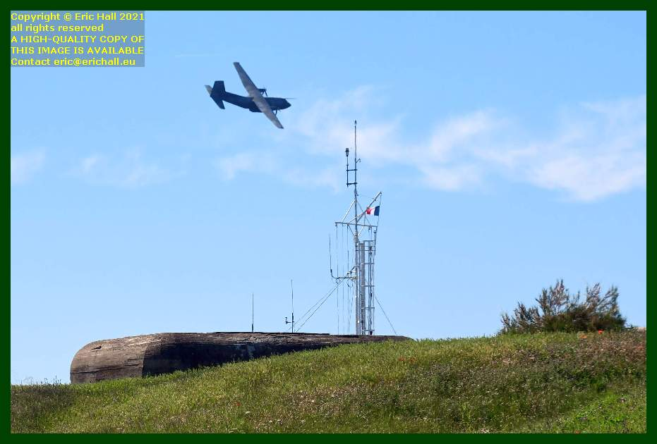 Transall C-160 french air force aeroplane pointe du roc Granville Manche Normandy France Eric Hall