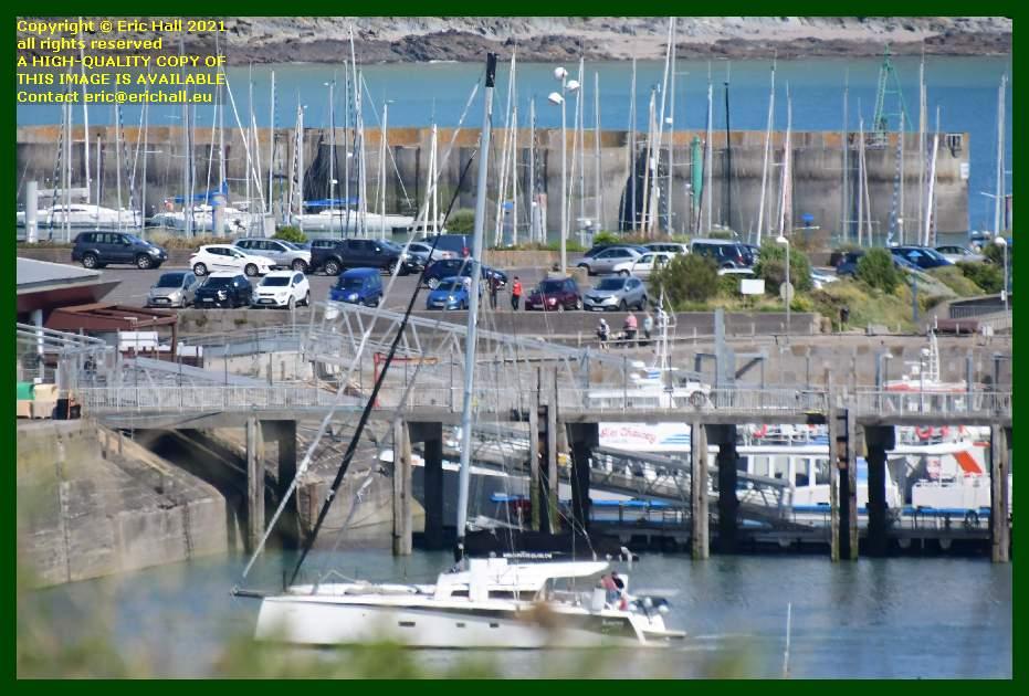 addictive sailing catamaran port de Granville harbour Manche Normandy France Eric Hall