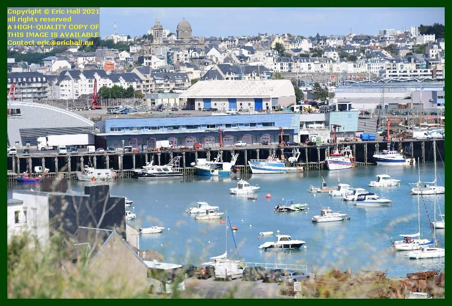 boats port de Granville harbour Manche Normandy France Eric Hall
