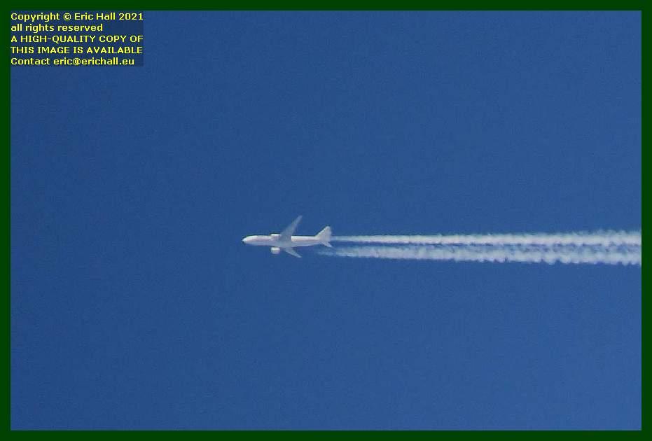 Turkish Airlines TC-JJY Boeing 777 pointe du roc Granville Manche Normandy France Eric Hall