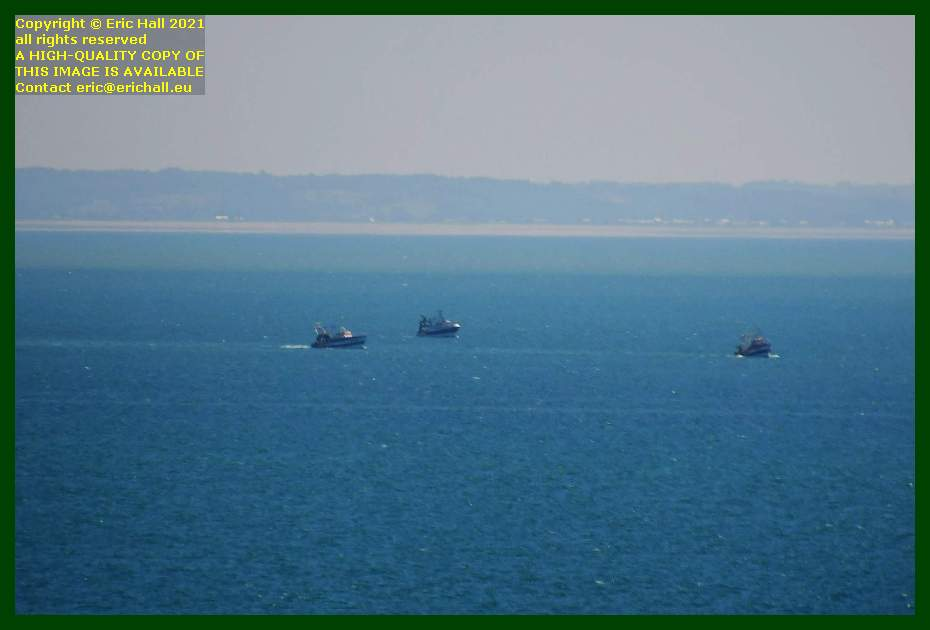 trawlers baie de mont st michel Granville Manche Normandy France Eric Hall