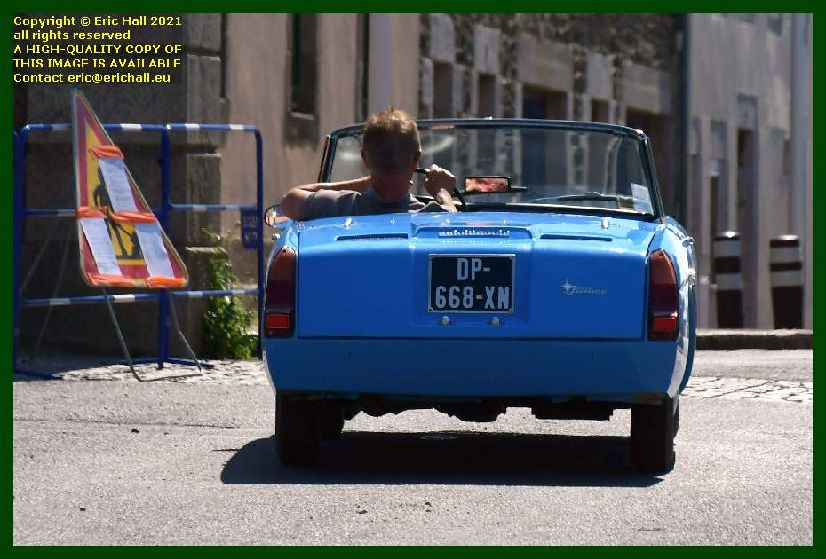 autobianchi stellina place d'armes Granville Manche Normandy France Eric Hall
