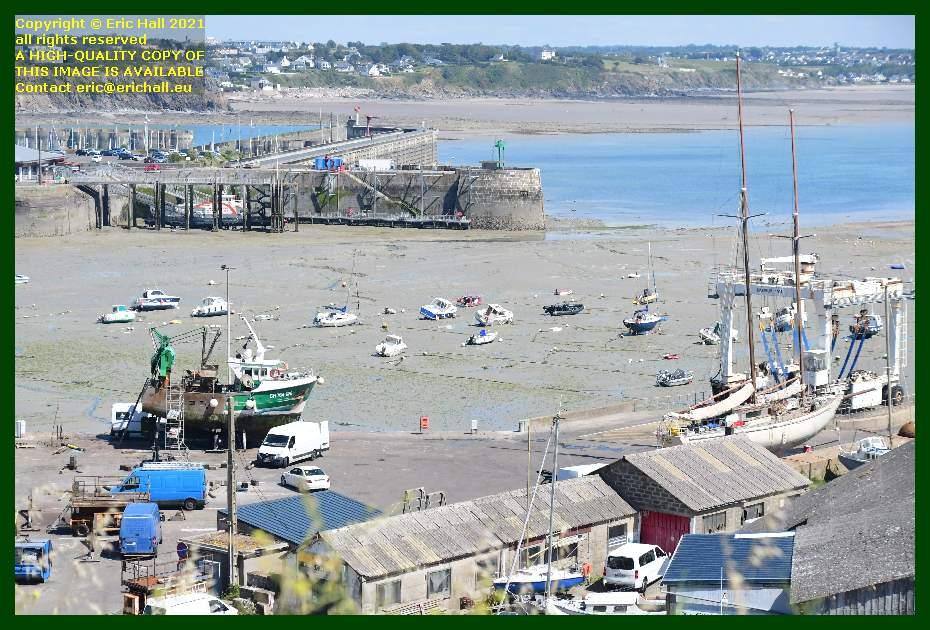 yacht rebelle trawler chantier navale port de Granville harbour Manche Normandy France Eric Hall
