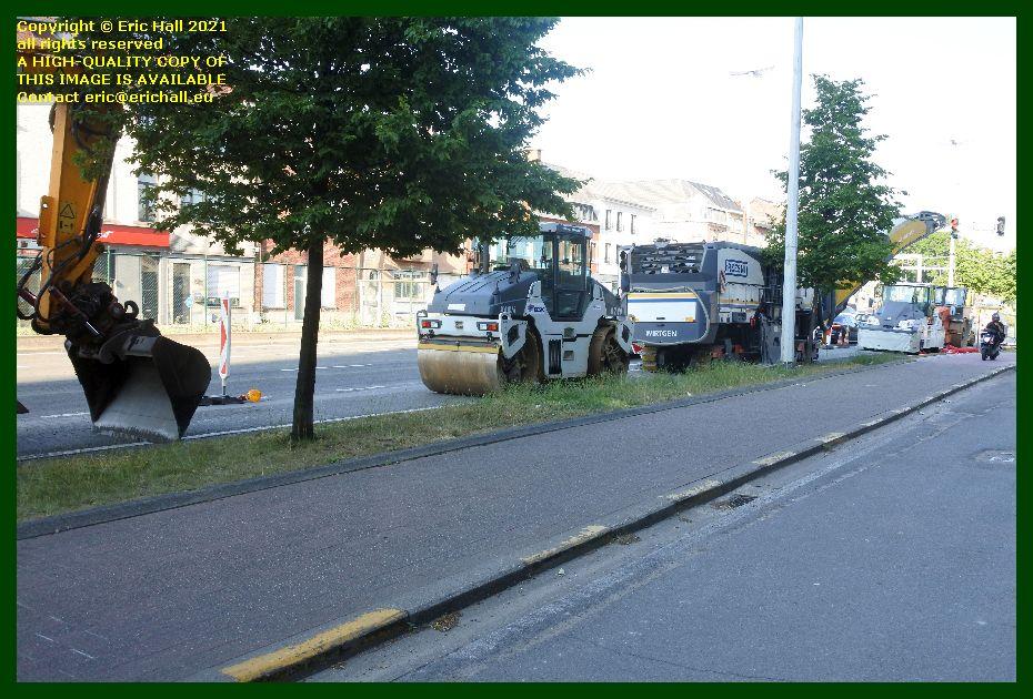 road works naamsestraat naamsevest leuven belgium Eric Hall