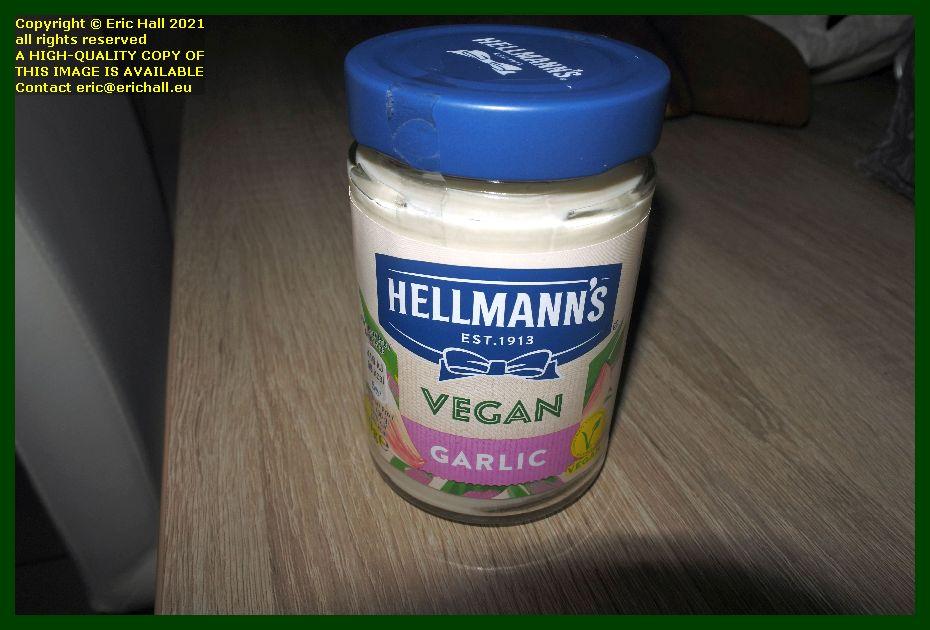 hellmans vegan garlic mayonnaise leuven belgium Eric Hall