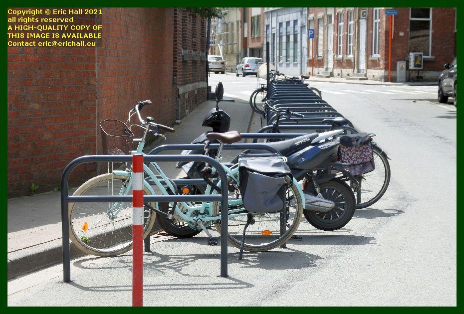 bicycle racks kruisstraat leuven Belgium Eric Hall