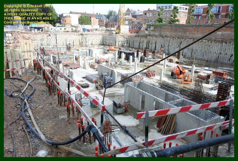 building site kapucijnenvoer leuven belgium Eric Hall