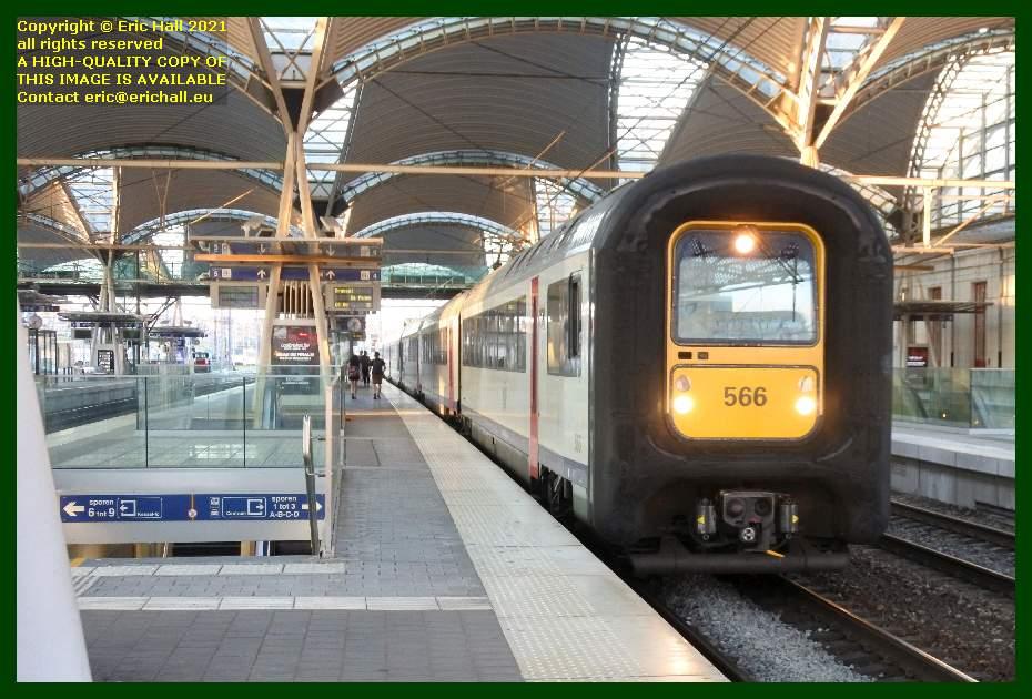 automotrice Am96 multiple unit gare de leuven railway station belgium Eric Hall