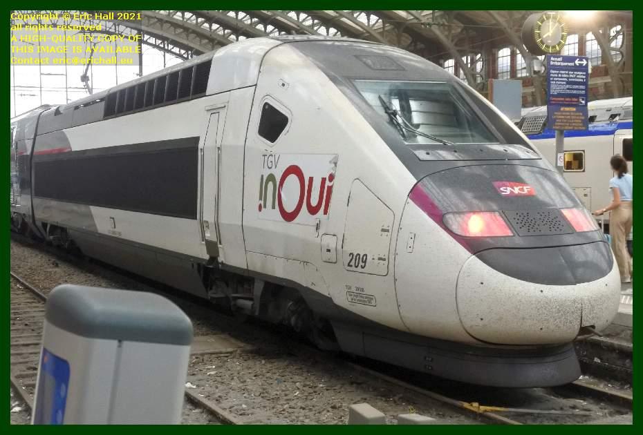 TGV Reseau Duplex 209 gare de lille flandres France Eric Hall