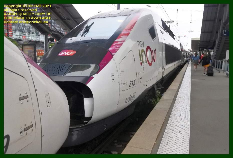 TGV Reseau Duplex 215 gare de lille flandres France Eric Hall