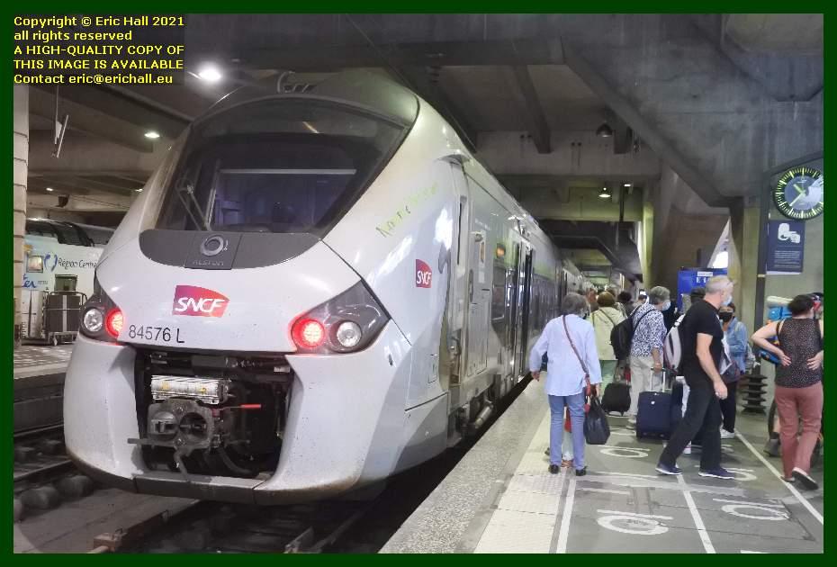 84576 gec alstom regiolis gare de montparnasse paris France Eric Hall