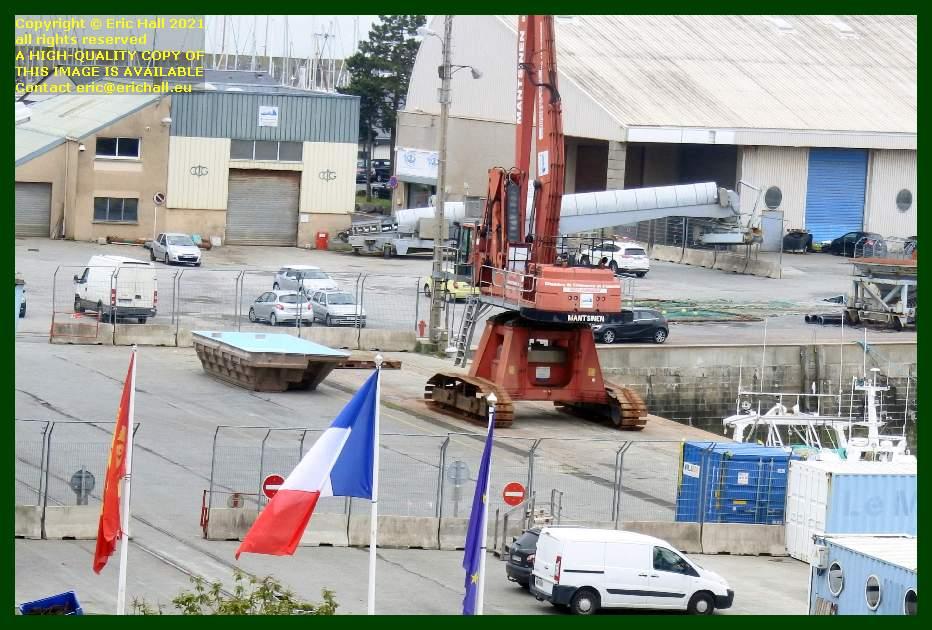 swimming pool port de Granville harbour Manche Normandy France Eric Hall
