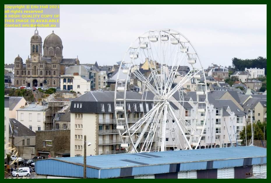 big wheel eglise st paul port de Granville harbour Manche Normandy France Eric Hall
