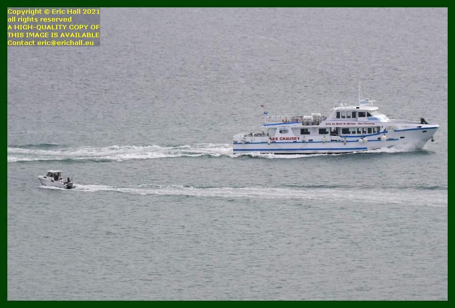 speedboat joly france baie de mont st michel Granville Manche Normandy France Eric Hall
