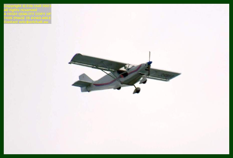 aeroplane pointe du roc Granville Manche Normandy France Eric Hall