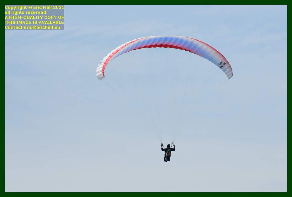 hang glider point du roc Granville Manche Normandy France Eric Hall
