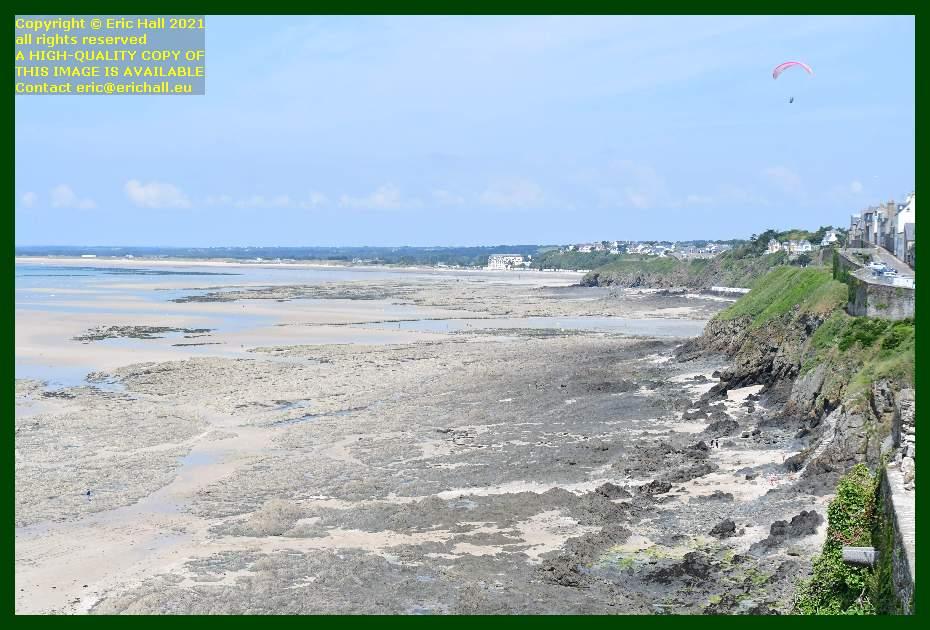hang glider beach rue du nord Granville Manche Normandy France Eric Hall