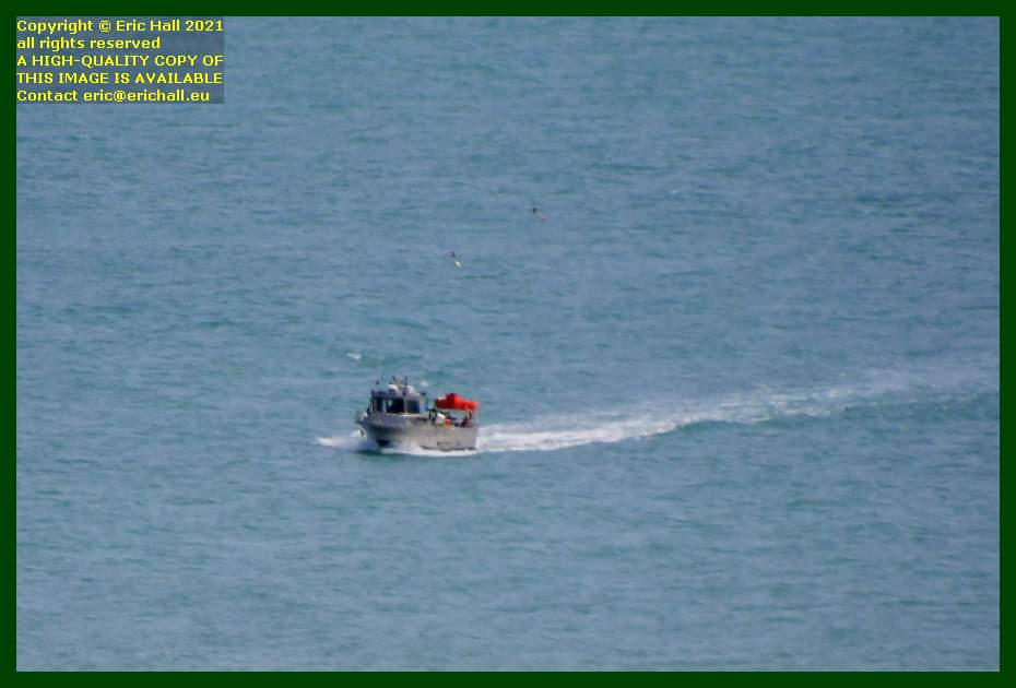 fishing boat baie de mont st michel Granville Manche Normandy France Eric Hall