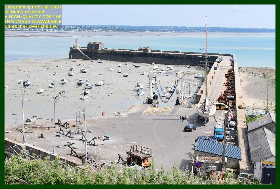 yacht rebelle chantier navale port de Granville harbour Manche Normandy France Eric Hall