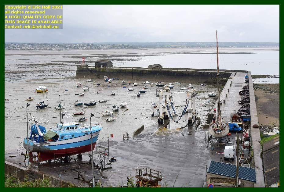 yacht rebelle trawler philcathane chantier navale port de Granville harbour Manche Normandy France Eric Hall