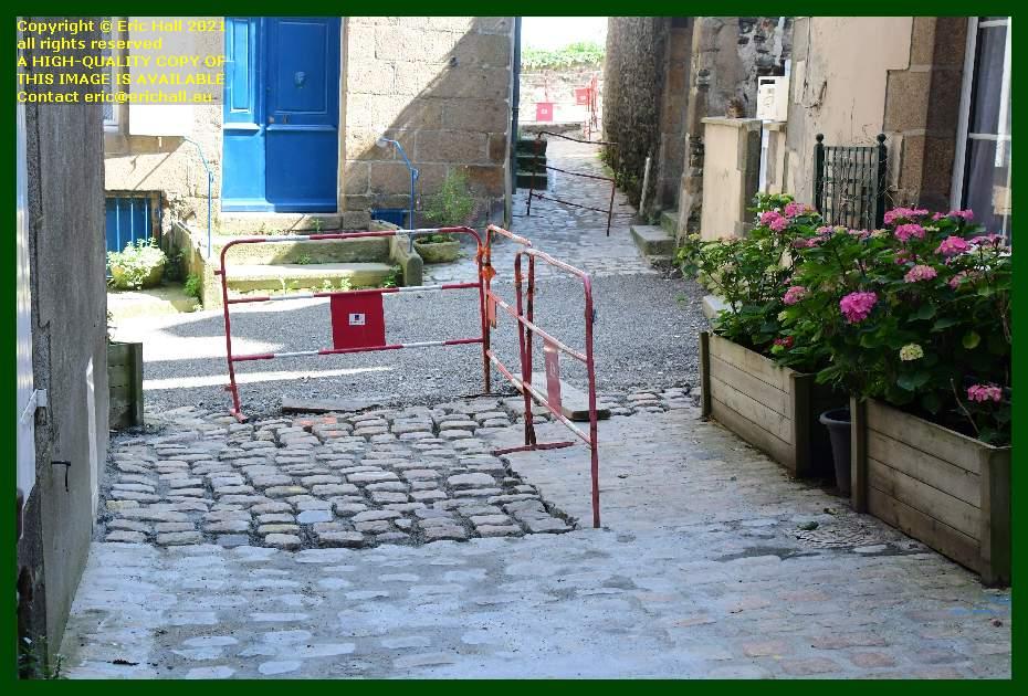 resurfacing venelle st michel Granville Manche Normandy France Eric Hall