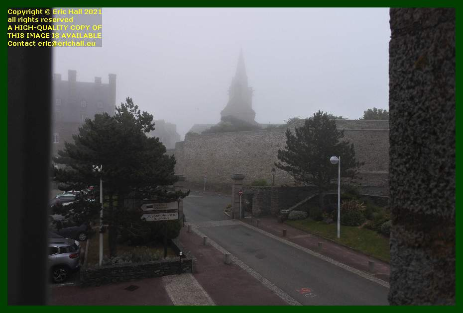 foggy morning rue st jean Granville Manche Normandy France Eric Hall