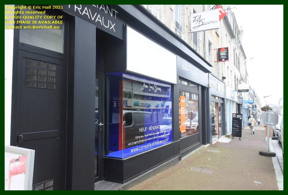empty shop rue couraye Granville Manche Normandy France Eric Hall