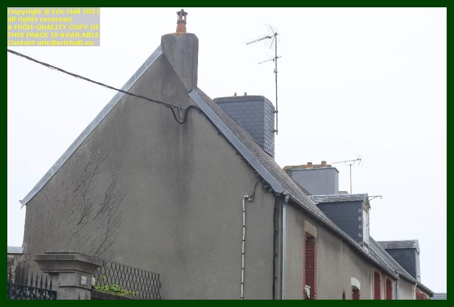 retiled roof rue de la houle Granville Manche Normandy France Eric Hall