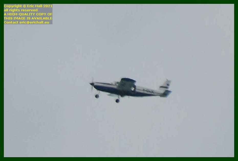 Diamond DV20 Katana f-gnjc aeroplane pointe du roc Granville Manche Normandy France Eric Hall
