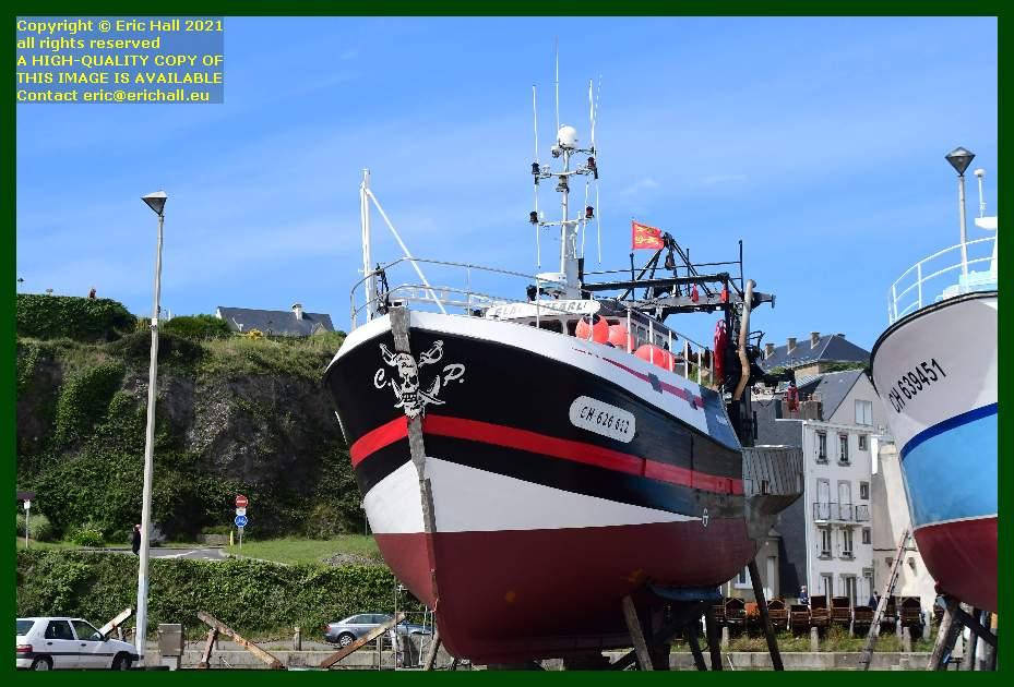 black pearl chantier naval port de Granville harbour Manche Normandy France Eric Hall
