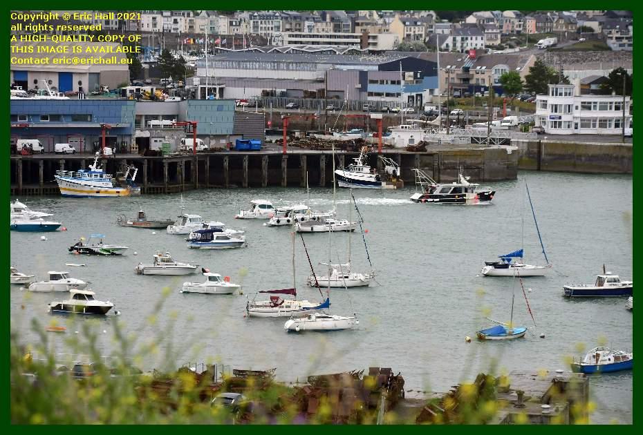 l'omerta fishing boats port de Granville harbour Manche Normandy France Eric Hall